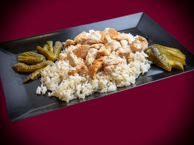 Q8 Roston Pulykamell - Jázmin rizs - csemegeuborka