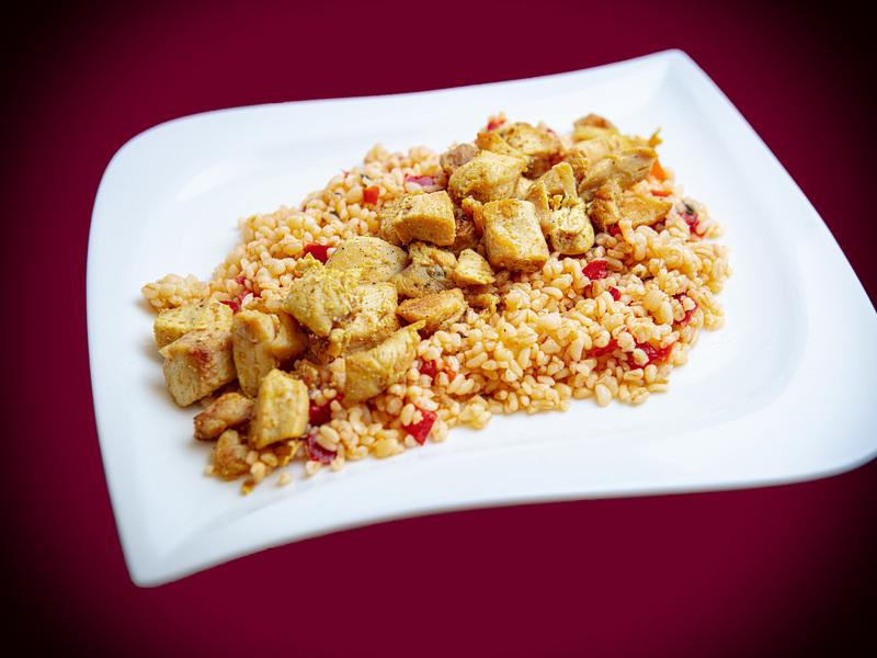 Q10 Currys Csirkemell - Bulgur